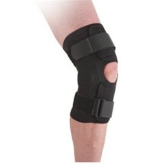 Ossur Neoprene Wraparound Hinged Knee Support