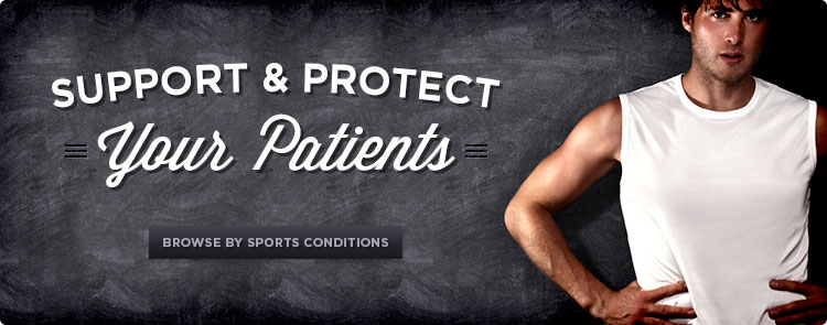 browse braces by sports conditions