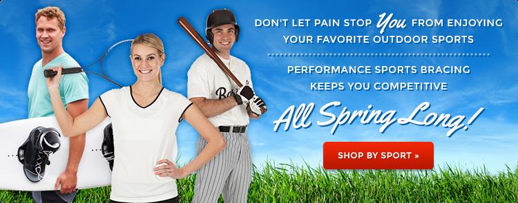performance sports bracing