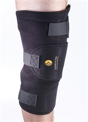 how to put on a corflex knee brace